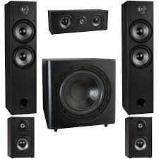yamaha 5 1 home theater t652 5 1 home theater surround sound speaker system with 12