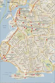 New York City Attractions Map by Brooklyn New York Map Neighborhoods Map Travel Holiday
