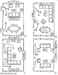 Dining Room Furniture Layout How To Plan A Rectangular Sitting Room With Exle Floor Plans