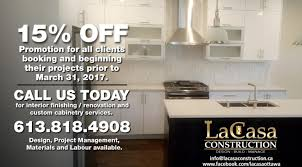 lacasa construction kitchen and bathroom renovations custom