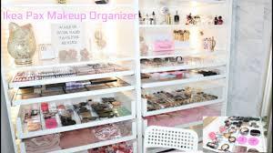 ikea makeup organizer ikea pax makeup organizer ester castillo youtube