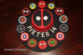 marvel superheroes birthday cake cake by corene cakesdecor