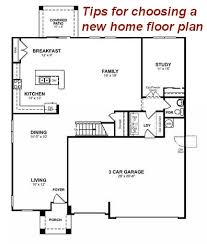 4 tips for choosing a new home floor plan