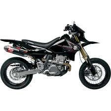 yoshimura rs 2 supermoto full exhaust for dr z400s 00 16