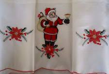 Christmas Kitchen Curtain by Christmas Curtains Ebay