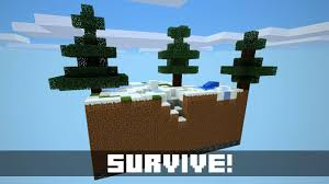 Skyblock Map Sky Block Minecraft Pe Map Android Apps On Google Play