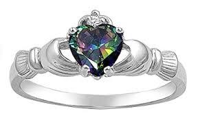 claddagh ring sterling silver claddagh friendship mystic