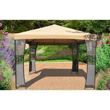 Replacement Awnings For Gazebos Garden Sunjoy Gazebo Replacement Awnings For Gazebos Sunjoy