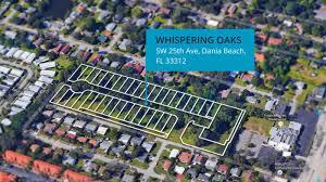 Dania Beach Florida Map by Whispering Oaks Stellar Communities