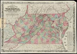 Map Of Eastern Tennessee by Colton U0027s New Topographical Map Of The States Of Virginia Maryland