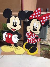 mickey mouse minnie mouse birthday party props decoration room