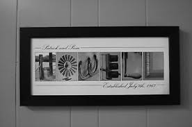 wedding gift letter framed alphabet photography photo letter personalized name