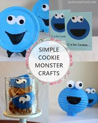134 best cookie monster bday party ideas images on pinterest