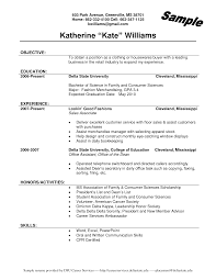 good objective for resume for retail free resume example and