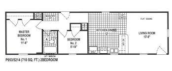 2 Bedroom Manufactured Home 2 Bedroom Bath Mobile Home Rooms