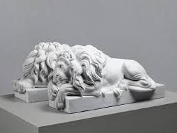 marble lions white marble canova lions these majestic white marble lions are