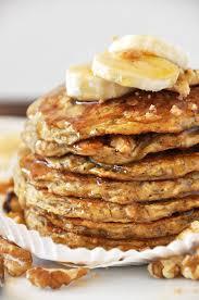 cuisine pancake vegan banana nut muffin pancakes minimalist baker recipes