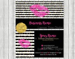 Clear Business Cards Vistaprint Beauty Business Card Etsy