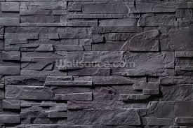 stone wall mural wall murals you ll love stone wall charcoal grey wallpaper mural wallsauce canada