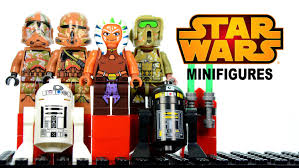 star wars the clone wars lego knockoff minifigures set 9 w