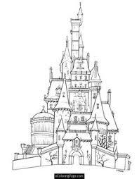 printable castle coloring pages print kids color