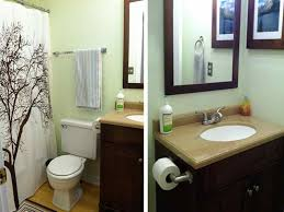 Design My Bathroom by Miscellaneous Small Bathroom Renovations Before And After