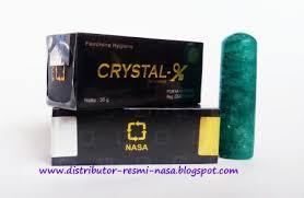kupas tuntas manfaat dan bahaya pemakaian crystal x distributor