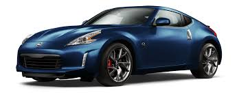 nissan sports car blue nissan 370z coupe sports car nissan