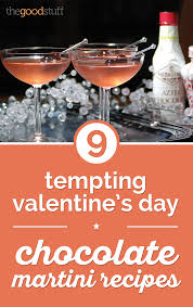 martinis recipes 9 tempting valentine u0027s day chocolate martini recipes thegoodstuff