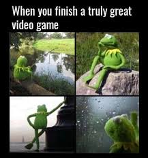 Video Gamer Meme - when you finish a truly great video game gangster gamer memes