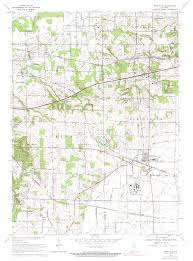 Topographical Map Of Virginia by Porter County Indiana Genweb Usgs Topographical Maps