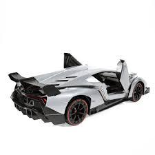 Lamborghini Veneno Model - amazon com rw radio remote control lamborghini veneno 1 14 scale
