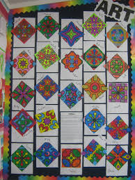 rangoli patterns using mathematical shapes broomfield school news centre