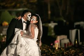 Halloween Theme Wedding by Cemetery Engagement Shoot Halloween Themed Wedding Weddingbee