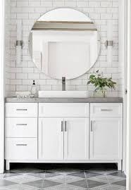 white vanity bathroom ideas 14 reasons to use concrete countertops in your bathroom