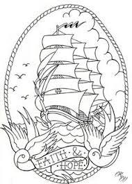 oldskool ship tattoo design by dazzbishop on deviantart tattoo
