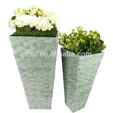 plastic pedestal flower pots brass flower pots with pedestal buy