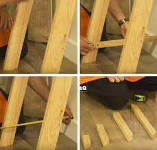 How To Build Wood Shelf Supports by How To Build Your Own Unique Ladder Shelves Diy Projects