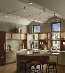 vaulted kitchen ceiling ideas beautiful track lighting for vaulted kitchen ceiling with trends
