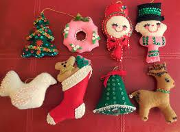 babylon sisters vintage felt christmas decorations
