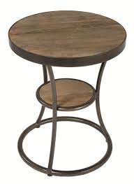 four hands irondale weathered channing round side table olinde u0027s