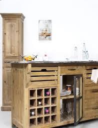 ilot cuisine bois massif ilot central bois massif et rustique made in meubles