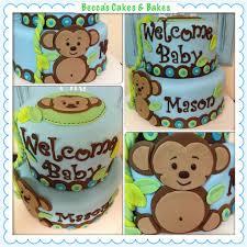 monkey boy baby shower monkey boy baby shower cakes party xyz