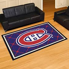 Nhl Area Rugs Nhl Montreal Canadiens Area Rug 2 44 M X 1 52 M 8 Ft X 5 Ft
