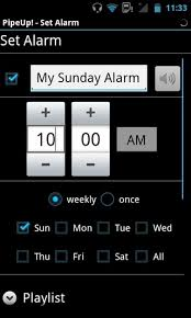 how to set alarm on android pipeup voice alarm for android can read aloud almost anything via tts