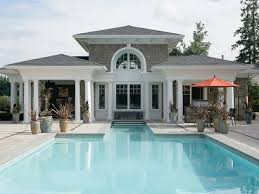 home plans with pools pool house plans pool cabana covered patio and clubhouse 035p