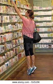 ashley greene seen at a card store for some wrapping paper and a