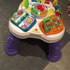 sit to stand activity table find more eeuc vtech sit to stand activity table for sale at up to
