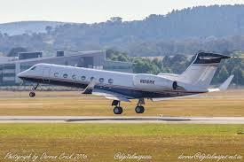 cbr engineering gulfstream v n616rk departs canberra airport avgeek aviation