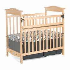 Foundations Mini Crib Mini Cribs Glam Bedroom Furniture Mattress Sidecar Alma White